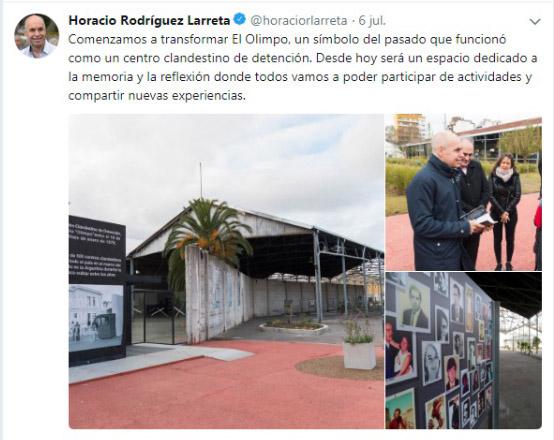 Twitter @horaciorlarreta