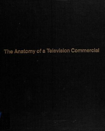 Cover of: The Anatomy of a Television Commercial  | Lincoln Diamant