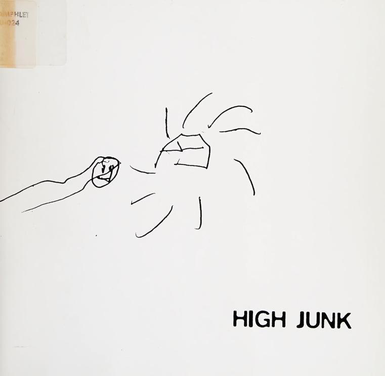 High junk by Daniel Bowden ... [et al.] ; curated by John Massier.