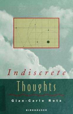 Cover of: Indiscrete thoughts | Gian-Carlo Rota