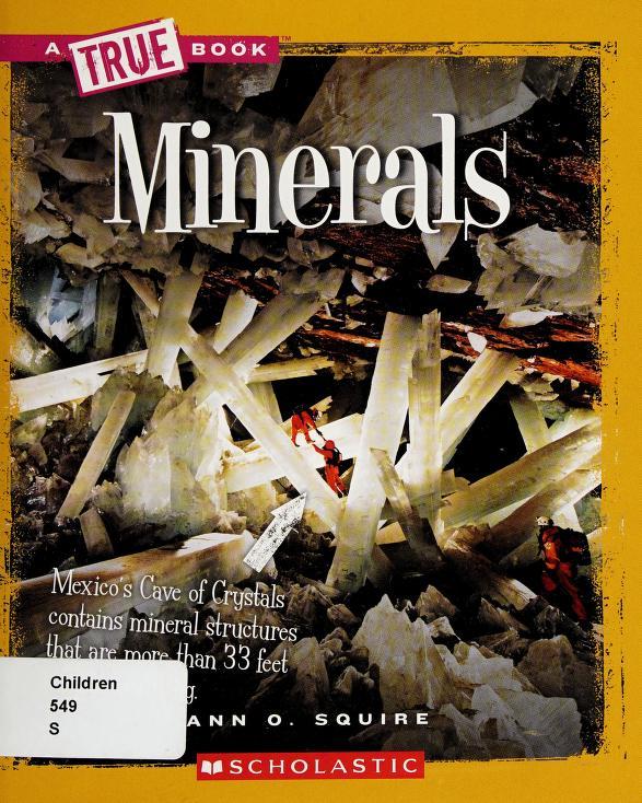 Minerals by Ann Squire