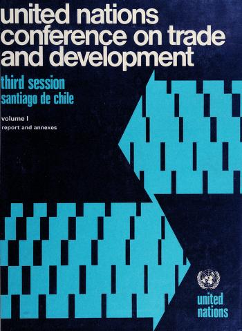 Cover of: Proceedings of the United Nations Conference on Trade and Development, third session, Santiago de Chile, 13 April to 21 May 1972 | United Nations Conference on Trade and Development (