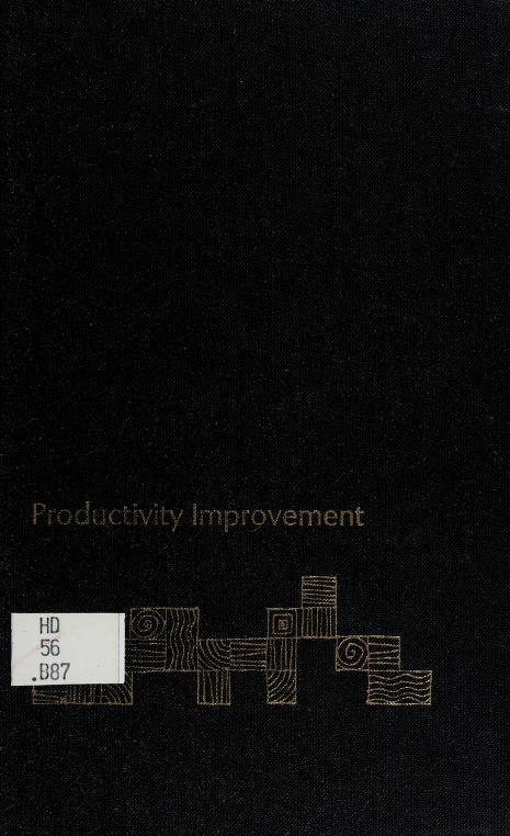 Productivity improvement by Donald C. Burnham